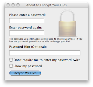 Password Protection App for Mac Files