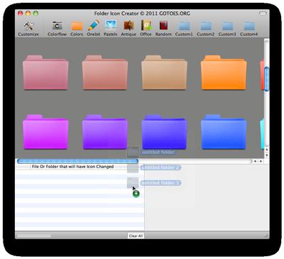 Colored Folder Creator For Mac