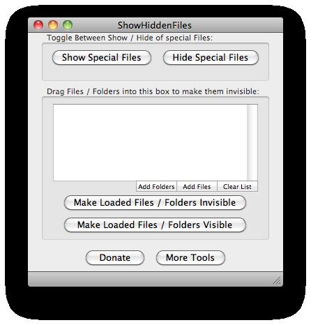 Show Hidden Files on your Mac